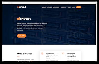 Nieuwe website NLExtract!